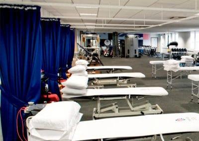 Temporary Physio Treatment Room